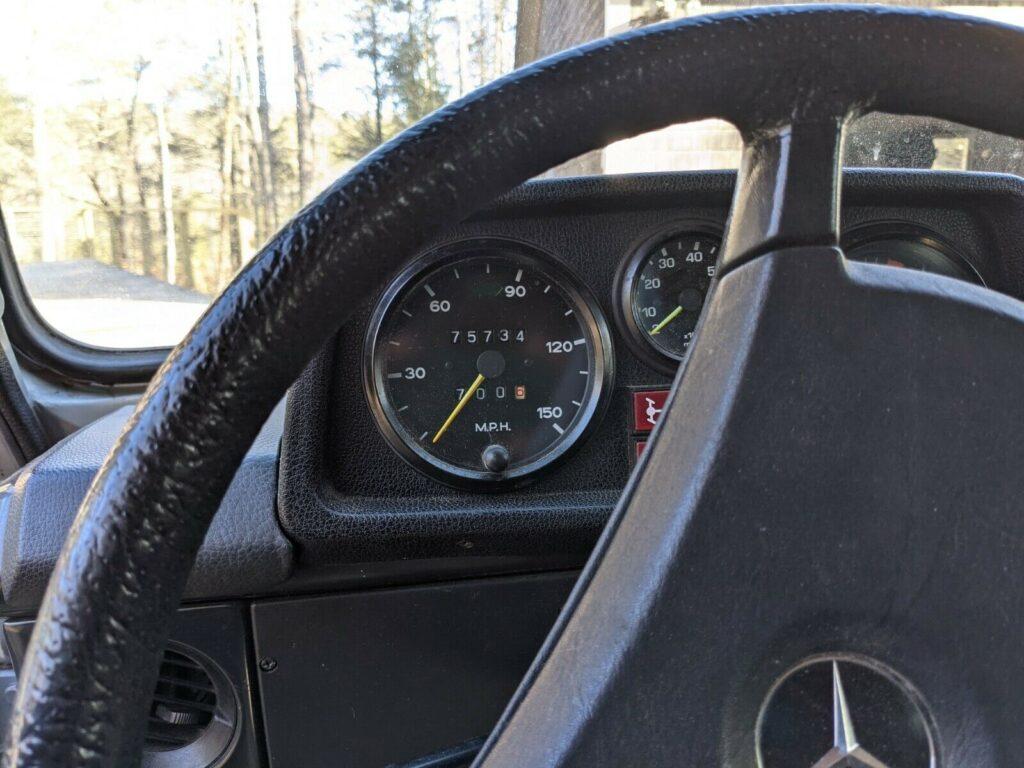 1980 Mercedes-Benz G-Class W460 280GE